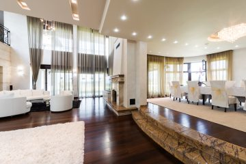 Luxury home with smart electrical fittings